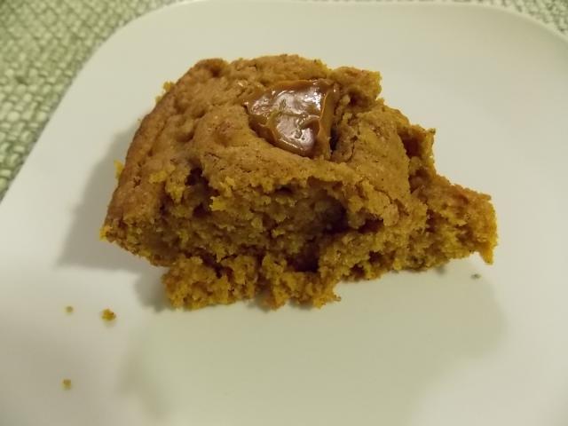 Slice of Pumpkin Skillet Cake