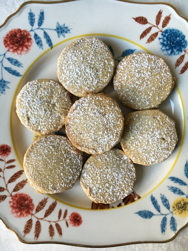 Pistachio Rose Water Cookies