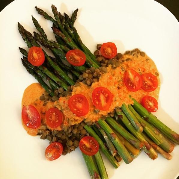 asparagusromesco