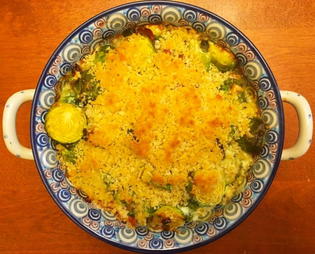 Brussels Sprouts Gratin copy